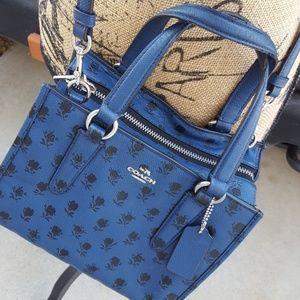 Coach Bags - COACH Mini Crosby Crossgrain Leather Carry all Han 3da4f9d8bd6d3